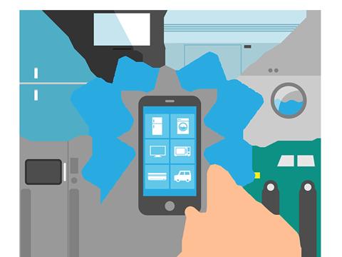 IoTの概念イメージ図