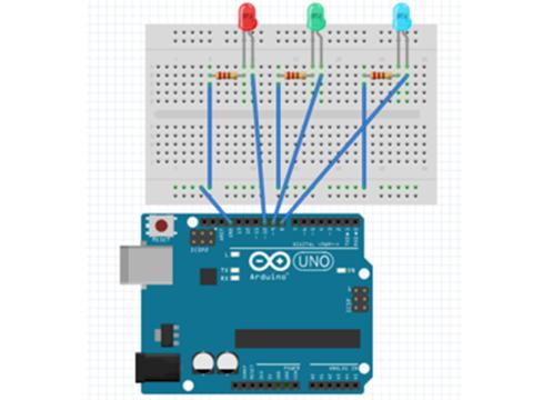 Arduino(アルドゥイーノ)で光センサープログラミングの写真