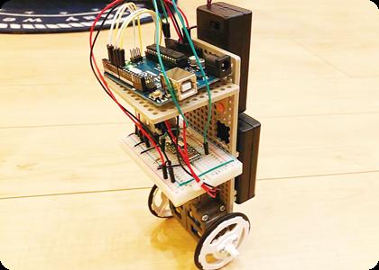 ロボット作りに挑戦チャレンジ