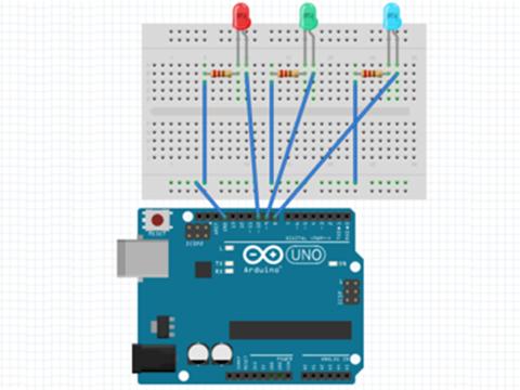 ArduinoとLEDプログラミング
